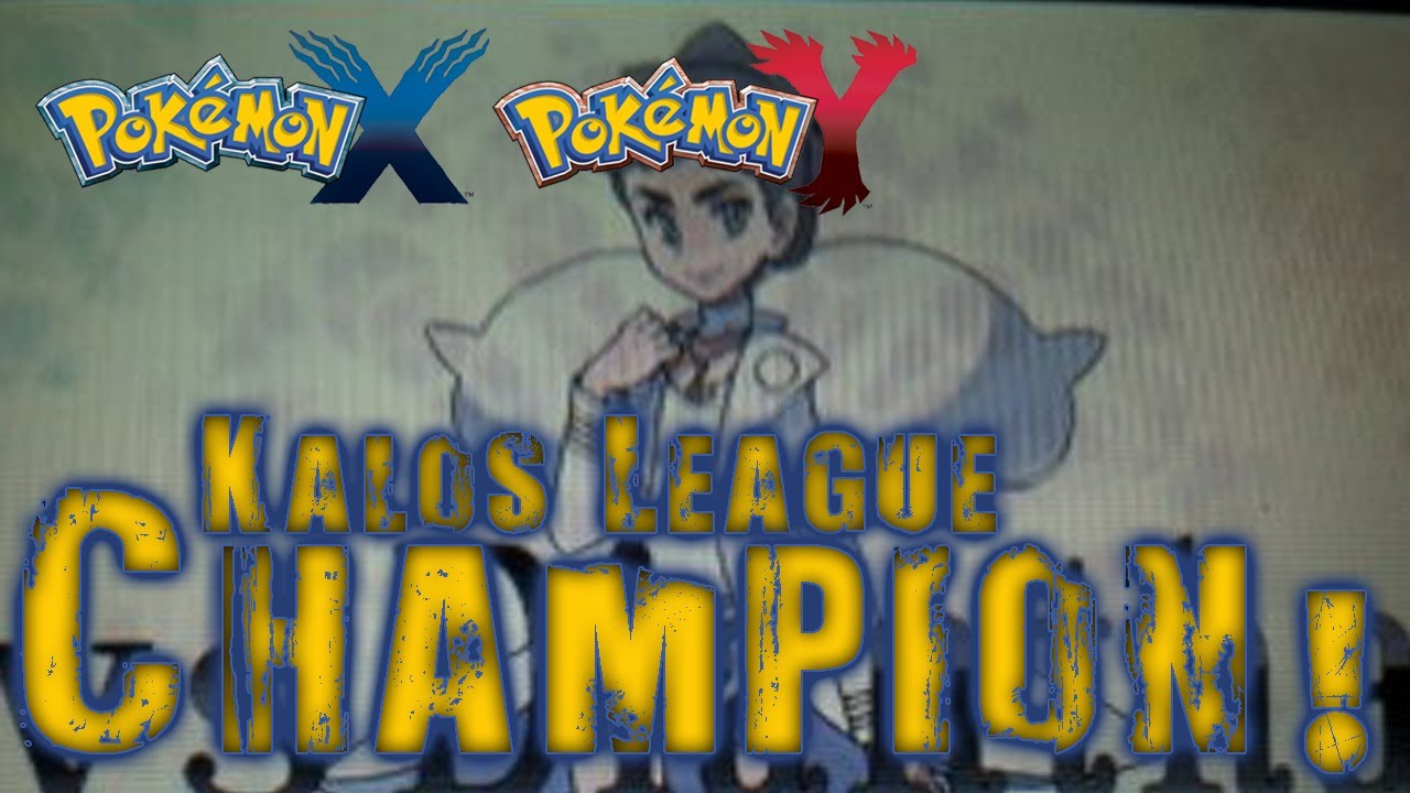 Pokémon X and Y - Kalos League Champion Leaked! - YouTube
