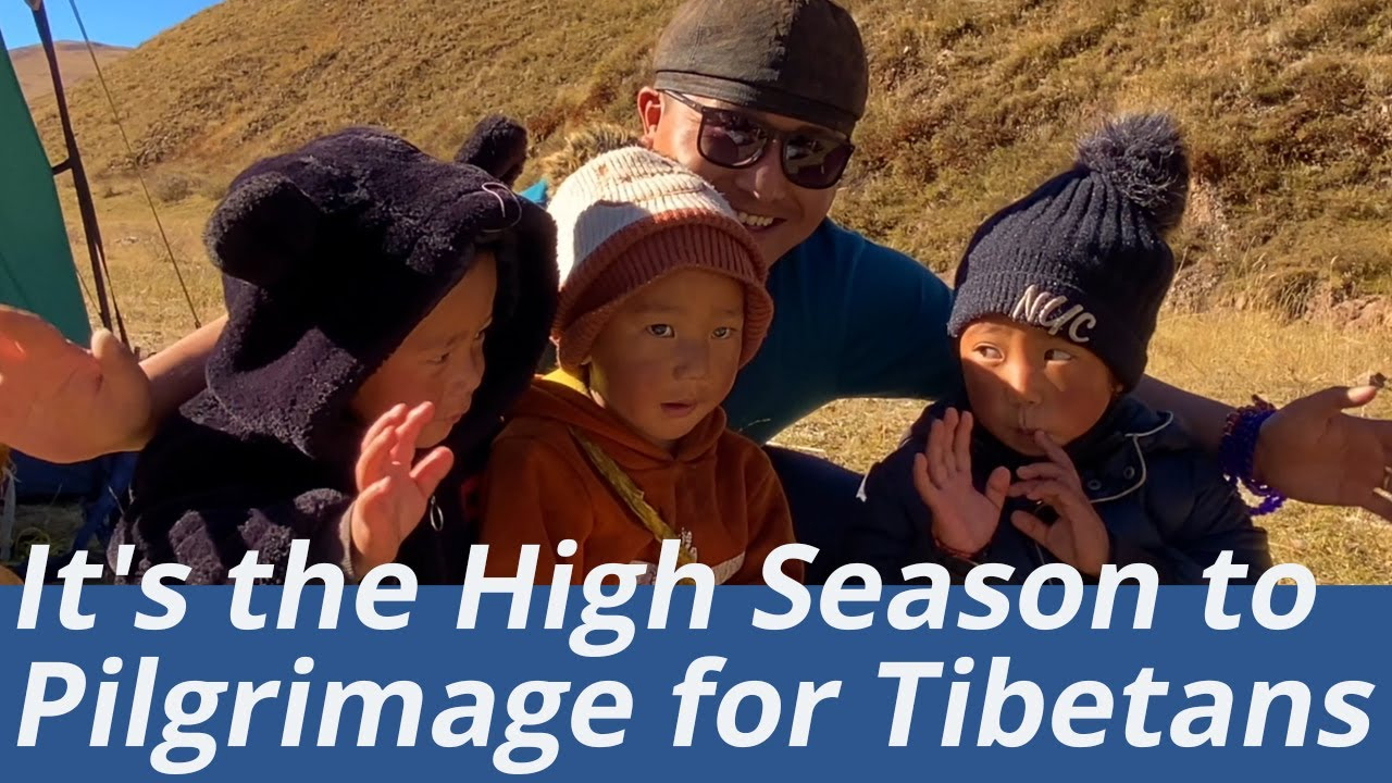 Late Autumn to Winter is High Season to Pilgrimage for Local Tibetans, See How They Live on the Road