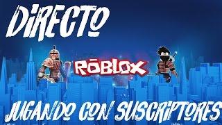 HAVE FUN IN ROBLOX WITH SUBSCRIBERS Roblox - Dark_Mirko99 [DIRECT]