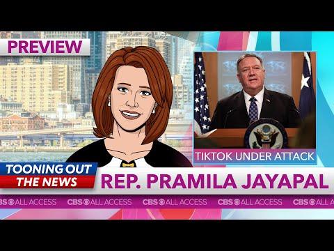 Rep. Pramila Jayapal tells Mike Pompeo to stop scrolling on TikTok
