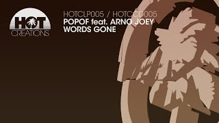 Popof ft Arno Joey - Words Gone