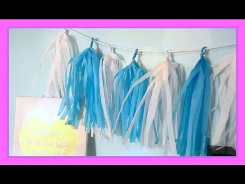 DIY Tissue Paper Tassel Garland | Make It!