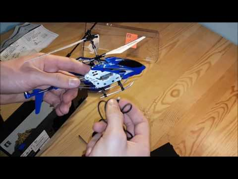 Unboxing the LS-model + first flight