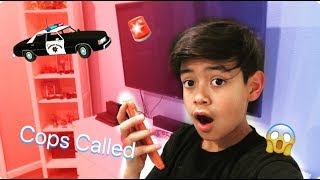 PRANK CALLING FAST FOOD PLACES!! CALLED THE COPS ON ME!!!!