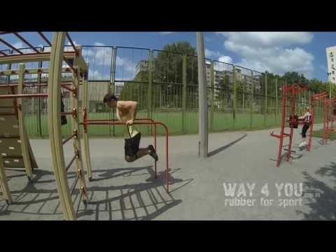 Резиновые петли Way4you [ тренировка турник и брусья]