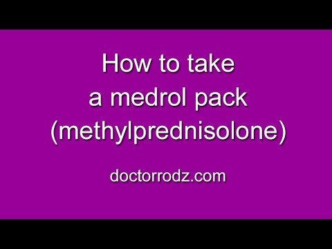 hqdefault - Medrol Dose Pack Used For Back Pain