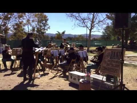 California Band of the Battalion - Tumbleweed Township Wild West Festival 2016