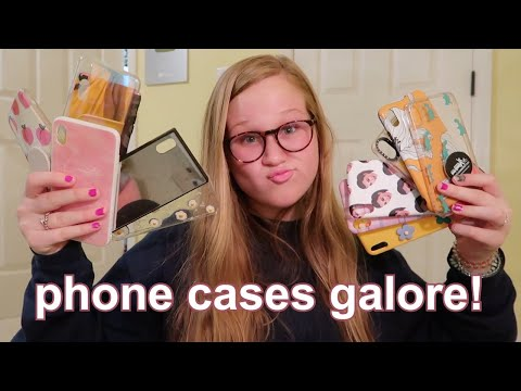 my giant phone case collection - vlogmas day 6