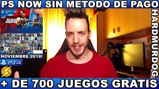 ¡¡¡PS NOW SIN MET0D0 DE PAG0!!!