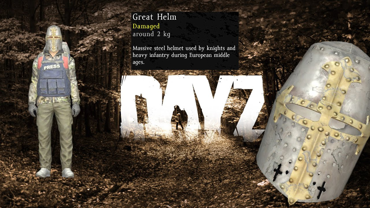 DayZ Standalone 0 59 [EXP] / Great Helm