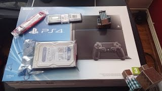 Playstation 4 Unboxing
