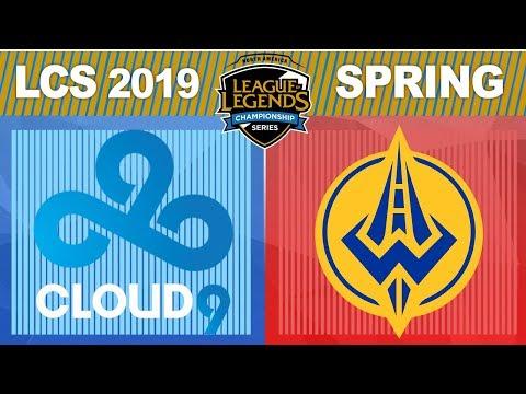 C9 vs GGS - LCS 2019 Spring Split W2D1 - Cloud9 vs Golden Guardians