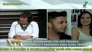 Programa A Tarde é Sua falando sobre a morte de Cristiano Araujo 26 /06/2015
