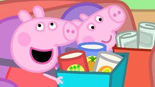 Peppa Pig in Hindi - Flying a Kite - Patang - Clips - हिंदी Kahaniya - Hindi Cartoons for Kids
