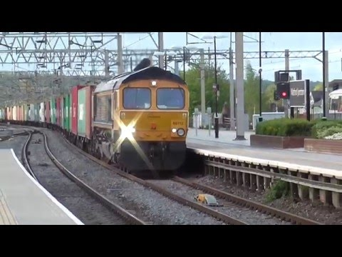 The Class 66 In Action