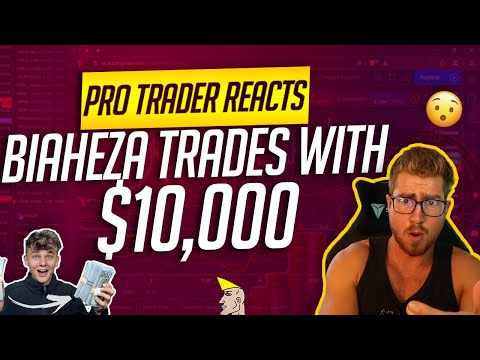 Professional Trader Reacts: How Much I Made First Month Trading Forex (Biaheza)