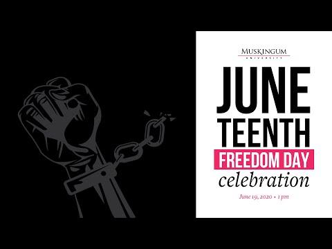 Muskingum University Juneteenth Event 2020