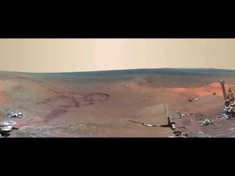 la Nasa pubblica foto a 360' di marte