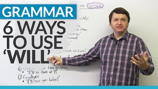 Grammar: 6 ways to use WILL