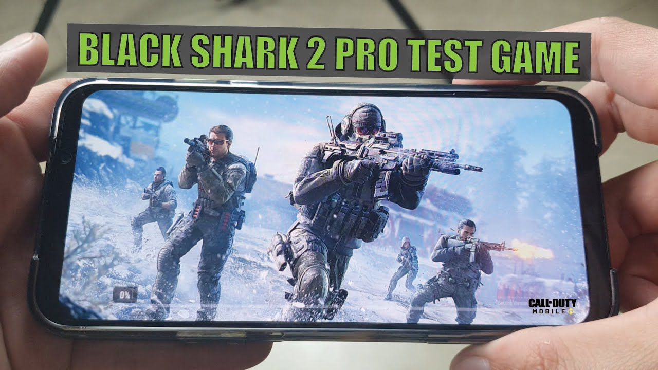 Xiaomi Black Shark 2 Pro TEST GAME Call Of Duty Mobile| Snap 855+
