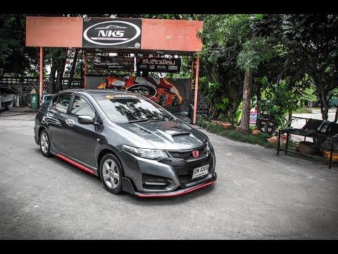 ชุดแต่ง Honda City 08-13 ทรง Type R15 สีเทา จาก Nekketsu Racing