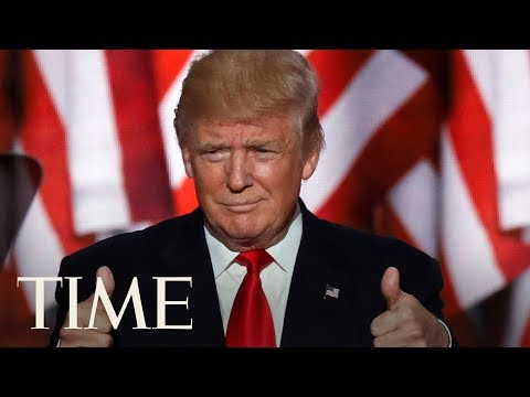 President Donald Trump Gives An Announcement On Jobs In The United States | TIME