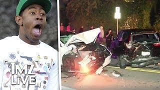 Tyler, The Creator: Insane Car Crash | TMZ Live
