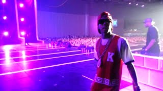 Tyga Sound Accident on Stage @Hiphop Festival 2015