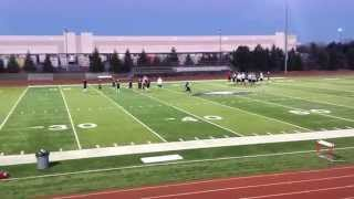 Marcus Hayes (#21) Qb - House Of Speed Training