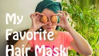 Homemade Hair Mask To Treat Hair Loss