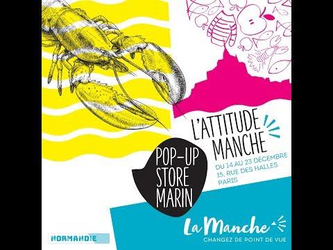 L'Attitude Manche, Pop-Up Store Marin à Paris !