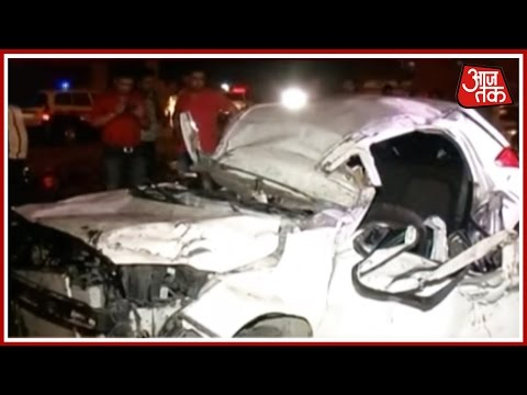 Road Rage: I20 Car Turns Turtle At Vikas Marg In Delhi, Several Critically Injured