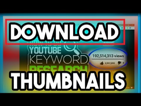How To Download Youtube Thumbnails From Your Videos In High Quality 2018