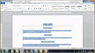 Microsoft Word tips and tricks: SquareOne Training