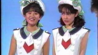 1987年5月16日放送 衣装とダンスが可愛いですね.
