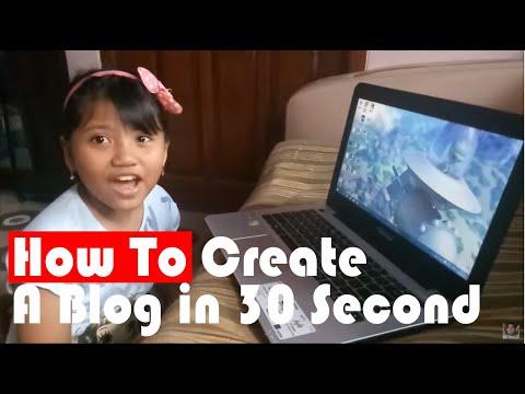 Tutorial Assignment: How to Make a Blog