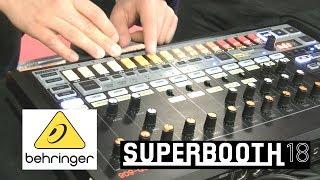 Behringer Rhytm Composer RD 808! - пример звучания (Superbooth18)