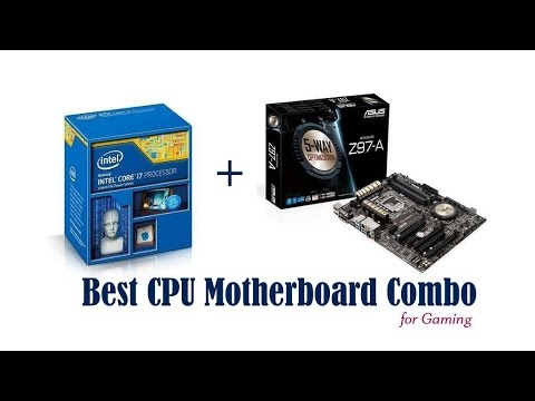 Best CPU Motherboard Combo - ASUS Z97-A + Intel i7-4790K | Best CPU  Motherboard Combo for Gaming