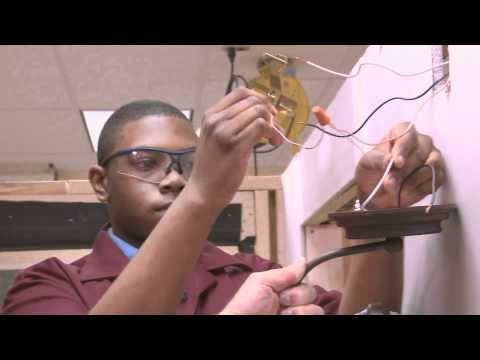 So Easy a Kid Can Do It - Installing a light fixture