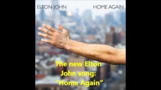 Elton John Home Again from Album The Diving Board   Vídeo Dailymotion