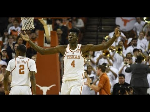 Mohamed Bamba - Texas Highlights 2018