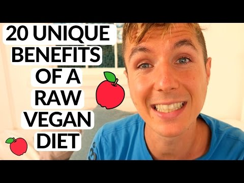 20 Amazing Benefits of a Raw Vegan Diet