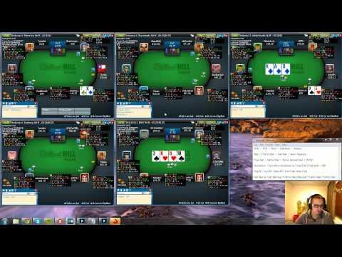 Pokeri-ilta - livepeliä - Zanfessin 3.12. No Limit Texas Holdem käteispeli-ilta NL50 ja NL100
