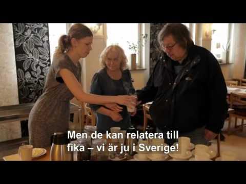 FIKA-Kyrkan på svenska och engleska (med text)