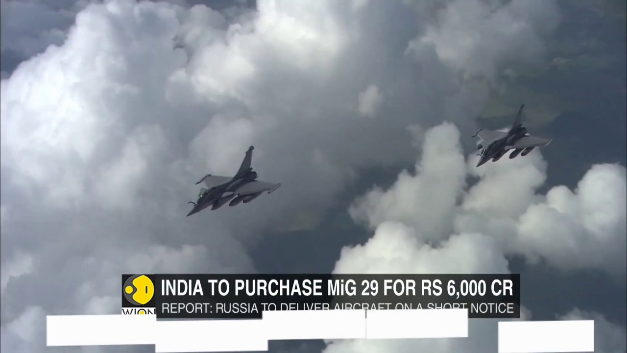 India to buy MiG 29 fighter planes from Russia: Reports