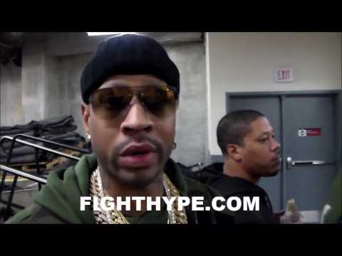 ALLEN IVERSON ON DANNY GARCIA VS. KEITH THURMAN AND TERENCE CRAWFORD BEEF WITH GARCIA