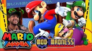 Super Mario Mania Playthrough - Mod Madness LIVESTREAM