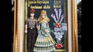 Tutorial Membuat Mahar dari Boneka Barbie