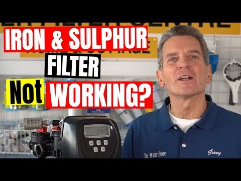 IRON & SULPHUR WATER FILTER TROUBLESHOOTING And Repair In 7 Easy Steps