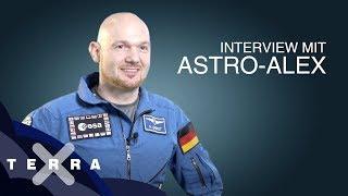 Interview: Alexander Gerst zurück auf der Erde